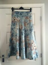 Gorgeous Ladies MONSOON long A Line Linen Skirt Size 12