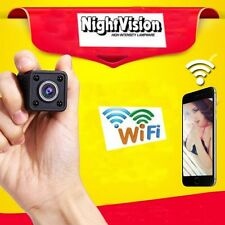 Mini SPY Camera WIFI IP Wireless IR night vision Hidden nanny Video Record NEW