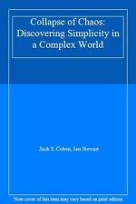 Collapse of Chaos: Discovering Simplicity in a Complex World By Ian Stewart, Ja