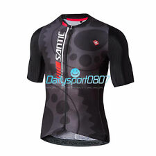 Santic Men MTB Road Short Sleeve Cycling Bicycle Bike Jersey Shirt
