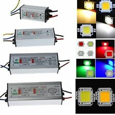 10W 20W 30W 50W DC Waterproof High Power Supply Driver Adapter&LED Chip Light RE