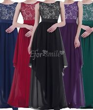 Women Formal Bridesmaid Prom Party Evening Wedding Cocktail Long Maxi Dress