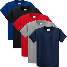 PACK of 5 Plain 100% soft ORGANIC cotton FAB2 T SHIRTS  for Man, Woman and Kids