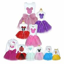 Baby Girls Bowknot Tutu Dress Toddler Ballerina Birthday Special Occasion Outfit