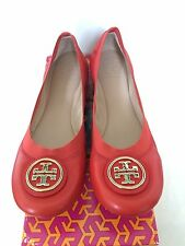 Sale!! NIB Tory Burch Caroline 2 Ballet Flats, Candy Apple, Size 8, 8.5, 9