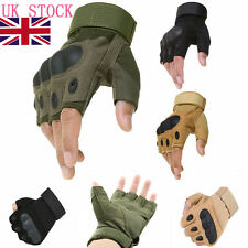 Half Finger Paintball Gloves Tactical Hunting Airsoft Armour Cycling Fingerless