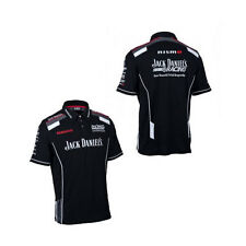 NISSAN MOTORSPORT JACK DANIELS RACING MENS TEAM POLO BLACK SIZE SMALL ONLY
