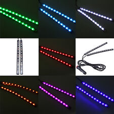 2x 12 LED Car SUV 12V Footwell Interior Floor Decorative Atmosphere Lights Lamps