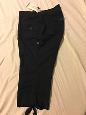 Motherhood Maternity: Capri/Cropped Pants, Under Belly Fit: Navy, XL