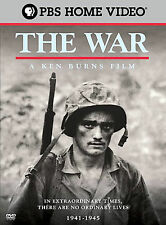 Ken Burns The War (DVD, 2007, 6-Disc Set, Widescreen Sensormatic) Brand New!