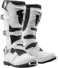 Thor 2017 Ratchet White Boots MX Motocross Off Road Dirt ALL SIZES 7-15