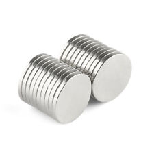 "10/50/100PCS Round Cylinder Magnets Rare Earth Neodymium 14x1.5 mm/0.55*0.5"" N35"