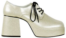 Disco Platform Shoes for men Silver New - Accessory Carnival Faschin