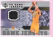 CHRIS MIHM 2005-06 UD UPPER DECK GAME USED WORN JERSEY MINT TEXAS CAVS $12