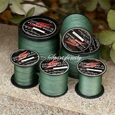 300 5001000M Super Strong Dyneema Spectra Extreme Sea Braided Fishing Line Green