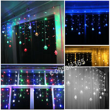 3 Meter LED Snowflake Tail String Fairy Christmas Lights Xmas Party Wedding Lamp