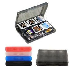Multicolor 28 in 1 Game Card Case Holder Cartridge Storage Box for Nintendo 3DS
