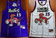 Vince Carter #15 Toronto Raptors Throwback Swingman Jersey - Purple / White