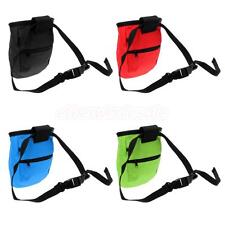 Chalk Bag Storage Pouch with Waist Belt for Rock Climbing Bouldering Caving Gym