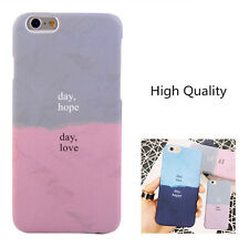 Back Shell couple Lovers Colors Collision Case Cover For iPhone 6 6S 7 Plus