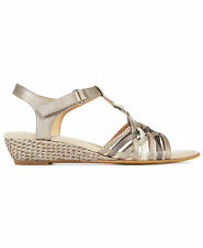 Easy Spirit Womens Malawi Open Toe Casual Wedged Sandals