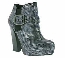 NEW REPLAY Beaches Shoes Women's Ankle Boot Boots Silver RP470002S 0014-CH SALE