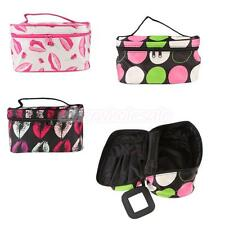 Travel Makeup Cosmetic Toiletry Case Washing Organizer Nail Storage Pouch Bag