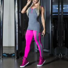 Yoga Women Sports Running Fitness Pants Jumpsuit Athletic Leggings Clothes
