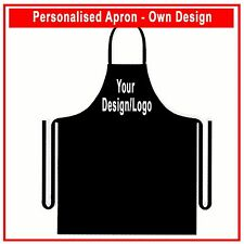 Personalised Customised Apron- Your own design / text Restaurant Club Bulk