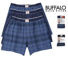 Buffalo Mens 3 Pack Cotton Modal Knit Boxers