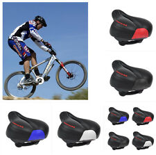 Wide Big Bum Bicycle Gel Cruiser Extra Comfort Sporty Soft Pad Saddle Seat LY