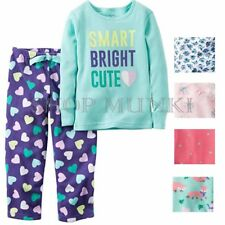 Carters Girls 2 Piece Pajamas Shirt and Pant Sleepwear