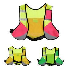 Running Cycling Hydration Pack Backpack Sports Reflective Vest Water Bag
