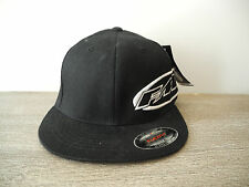 New Black FMF Racing So. Calif. Fitted Baseball Cap Size L/XL Origional FlexFit
