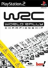 WRC: World Rally Championship (Sony PlayStation 2, 2002) Video Game