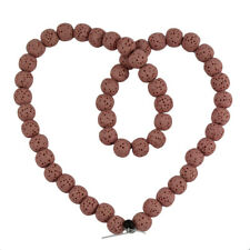 1 Piece Natural Lava Gemstone Beads Spacer Well Polished Round Shape, 8 mm