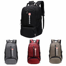 Swiss Army Knife Mens Travel Hiking Camping Backpack School Bag Laptop Rucksack