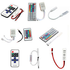 For 3528 5050 RGB LED Strip Light 3/10/24/44 Key IR Remote Wireless Controller7N