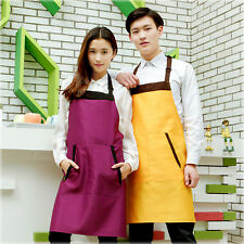 Kitchen Restaurant Chef Cooking Apron Shoulder Strap Waiter Uniform Bib Apron