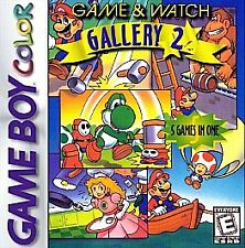 GAME & WATCH GALLERY 2 - GAME BOY COLOR