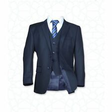 Boys Navy Suit, Children Blue Wedding Suit, Kids Prom Suits, Page Boy Outfits