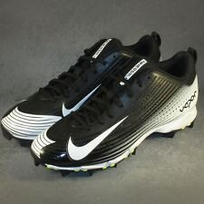 Men's Nike Vapor Keystone 2 Low Molded Baseball/Softball Cleats Size 9 Black