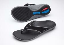Spenco Men's Yumi Polysorb Total Support Sandals Carbon/Pewter - Mult. Sizes NEW