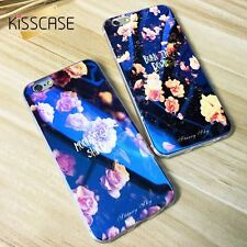 KISSCASE Soft TPU Case For iPhone 6 6s 7 Plus Cute Blue Light Silicon Back Cover