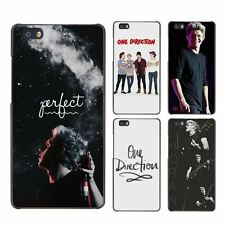 Niall Horan One Direction Hard Case Black Cover Scrub for Huawei P8 P9 Lite Plus