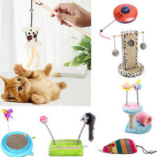 Cat Pet Scratching Post Pole Activity Claw Control Play Toys Climbing Sisal Rope