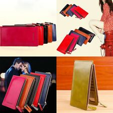 Long Ladies Purse Coins  Clutch Money Bag Hasp Fashion Leather  Women Wallets