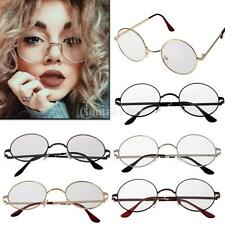 MagiDeal Vintage Metal Eyeglass Mirror Retro Round Sunglasses Spectacles Frame