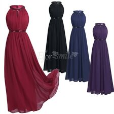 Women Evening Dress Party Bridesmaid Formal Prom Wedding Cocktail Long Dresses