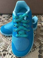 Nike Free 5 (PS) Blue Running Shoes Lagoon/Metallic/Silver  Multi Size 725115 40